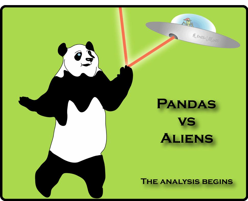 Pandas vs Aliens