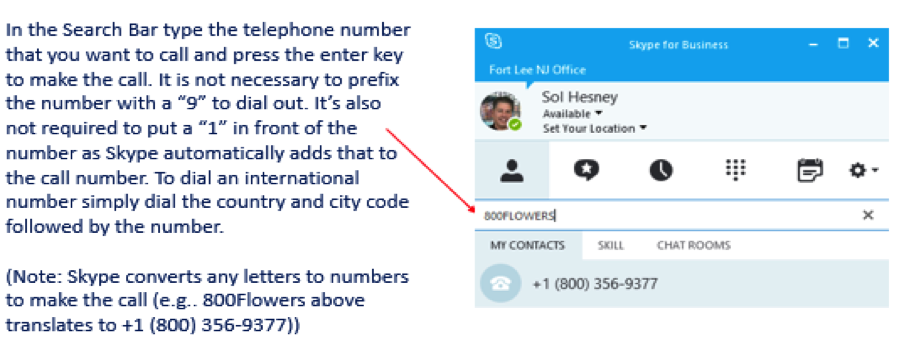 Make a Skype Call to any Outside Number