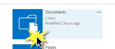 Select Site Documents App