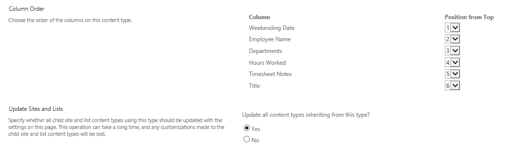 Use Dropdown Values to Order (click for larger image)