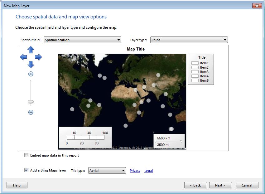 Figure 26: Adding a Bing Maps Layer