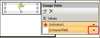 Figure 35: Gauge Data Window
