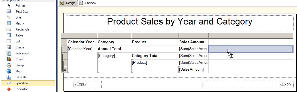 Figure 62: VendorSubReport Preview